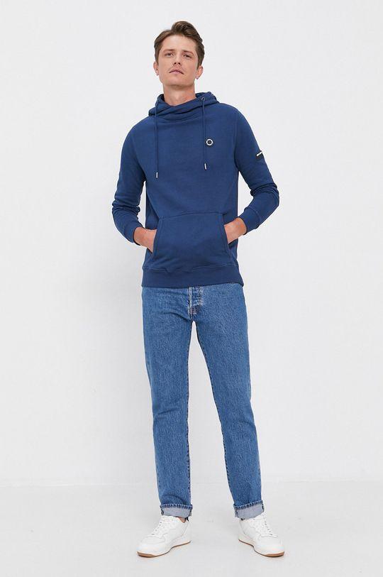 Pepe Jeans - Bavlněná mikina Aaron modrá