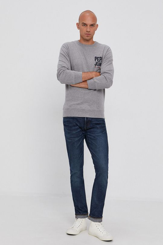 Pepe Jeans - Bluza Edison szary
