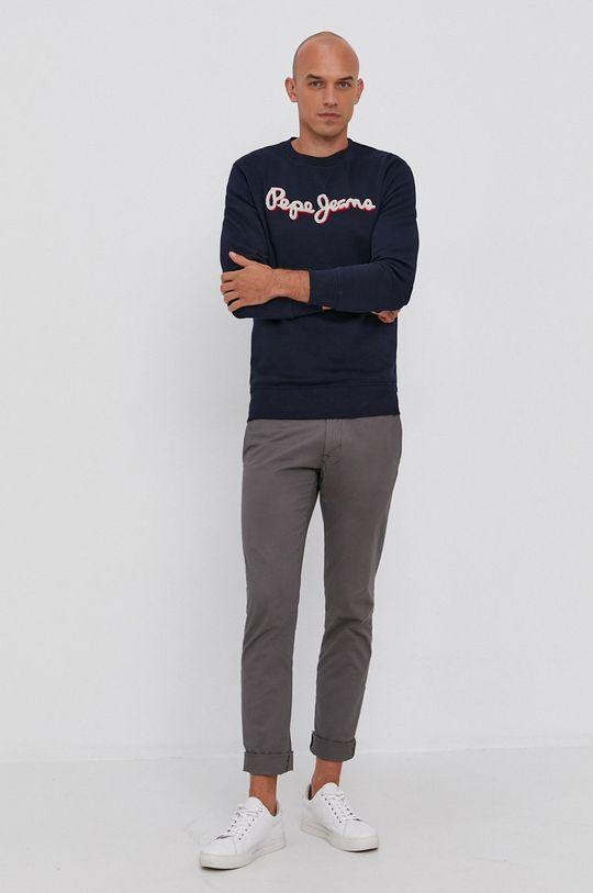 Pepe Jeans - Bluza Lamont granatowy