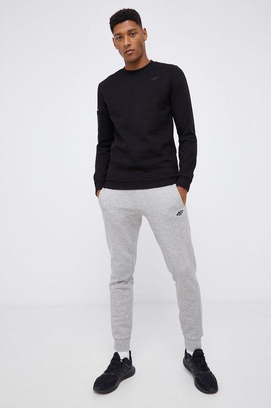 4F - Bluza czarny