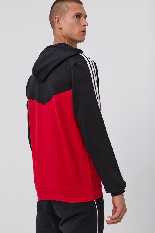 adidas Performance - Bluza  Materialul de baza: 70% Bumbac, 30% Poliester reciclat Captuseala glugii: 100% Bumbac Banda elastica: 95% Bumbac, 5% Elastan