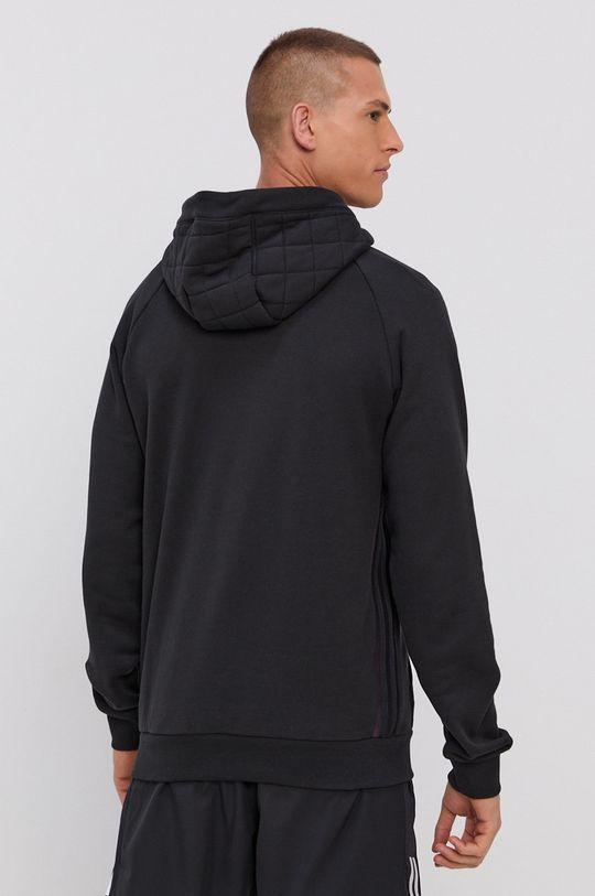 adidas Performance - Bluza  Materialul de baza: 100% Bumbac Captuseala glugii: 100% Bumbac Captuseala: 100% Poliester