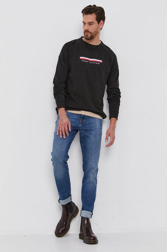negru Tommy Hilfiger - Bluza De bărbați