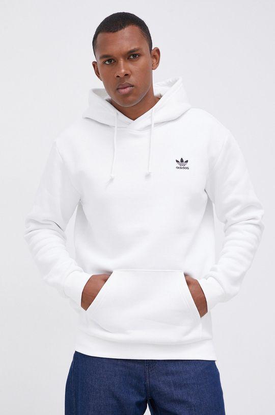biały adidas Originals - Bluza Męski