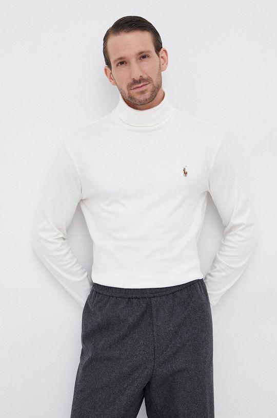 crem Polo Ralph Lauren - Longsleeve din bumbac De bărbați