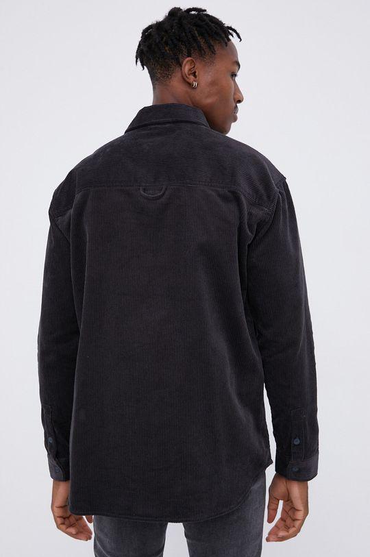 γκρί Dr. Denim - Βαμβακερό πουκάμισο