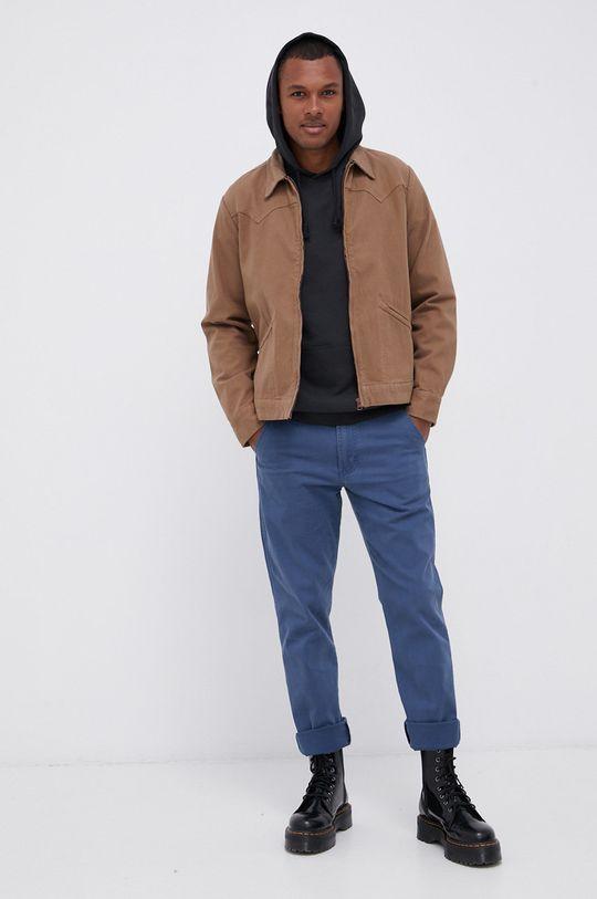 Wrangler - Bluza bawełniana czarny