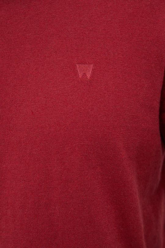 Wrangler - Sweter z domieszką wełny Męski
