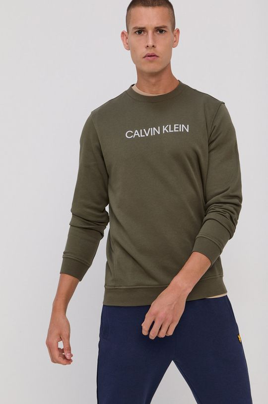 Calvin Klein Performance - Bluza verde
