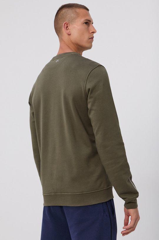 Calvin Klein Performance - Bluza  Materialul de baza: 87% Bumbac, 13% Poliester  Finisaj: 97% Bumbac, 3% Elastan