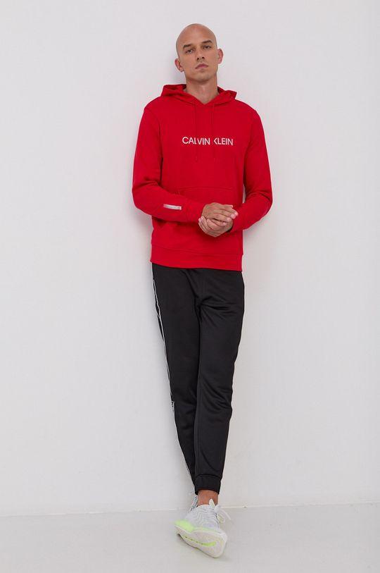Calvin Klein Performance - Bluza czerwony