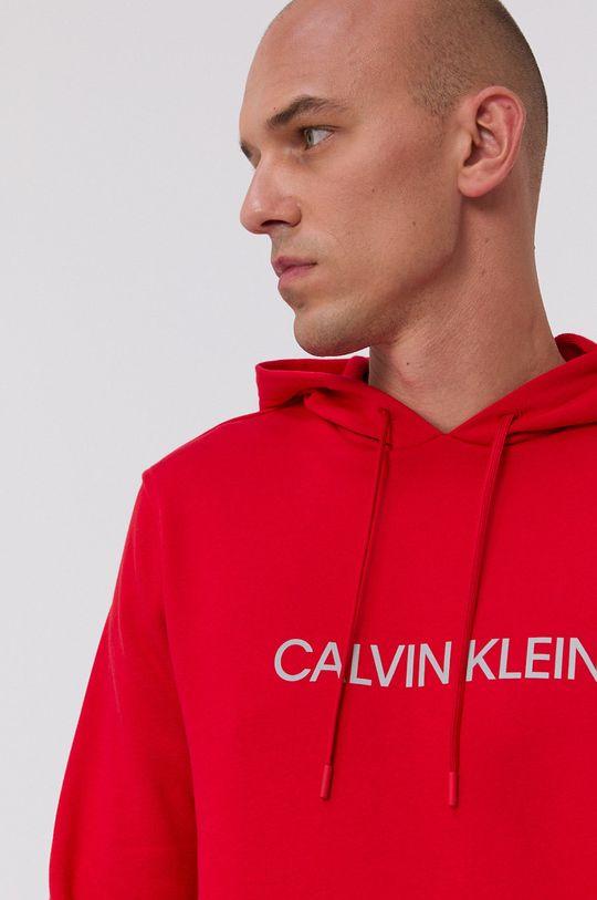 czerwony Calvin Klein Performance - Bluza