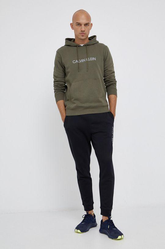 Calvin Klein Performance - Bluza zielony