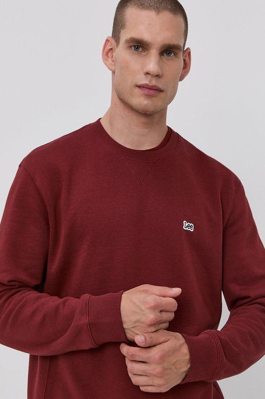 brązowy Lee - Bluza bawełniana