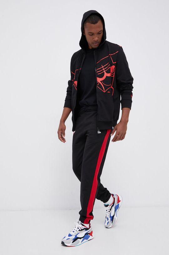 New Era - Bluza bawełniana czarny