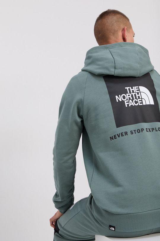 verde murdar The North Face - Hanorac de bumbac De bărbați