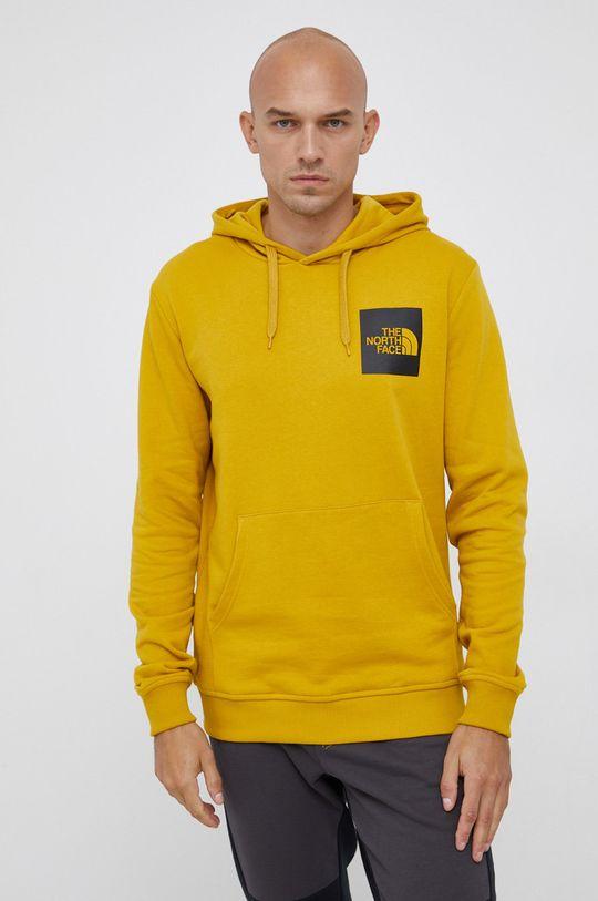 κίτρινο The North Face - Βαμβακερή μπλούζα