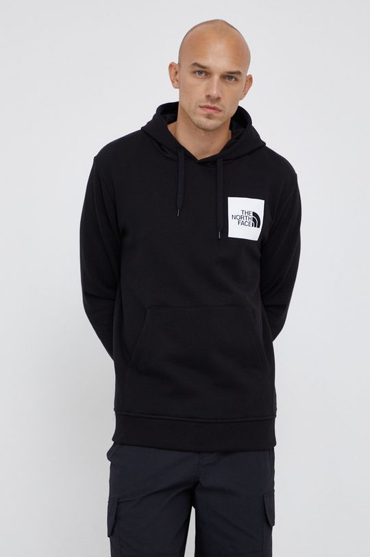 μαύρο The North Face - Βαμβακερή μπλούζα