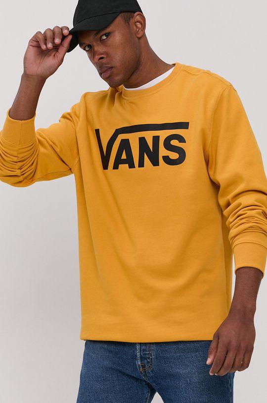 ciepły oliwkowy Vans - Bluza bawełniana