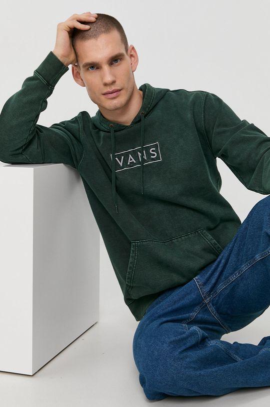 zielony Vans - Bluza Męski