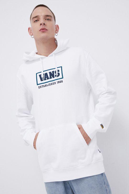 Vans - Bluza bawełniana biały