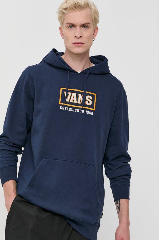 granatowy Vans - Bluza bawełniana Męski
