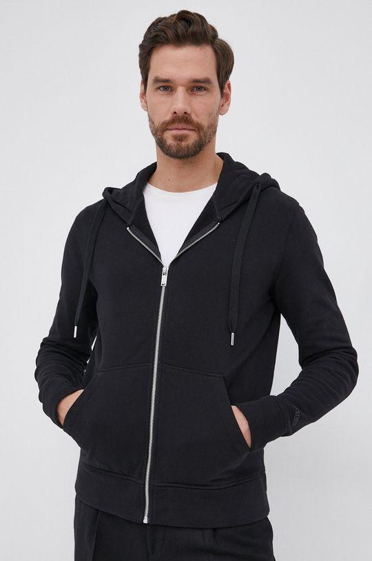 μαύρο Drykorn - Βαμβακερή μπλούζα Payn Ανδρικά