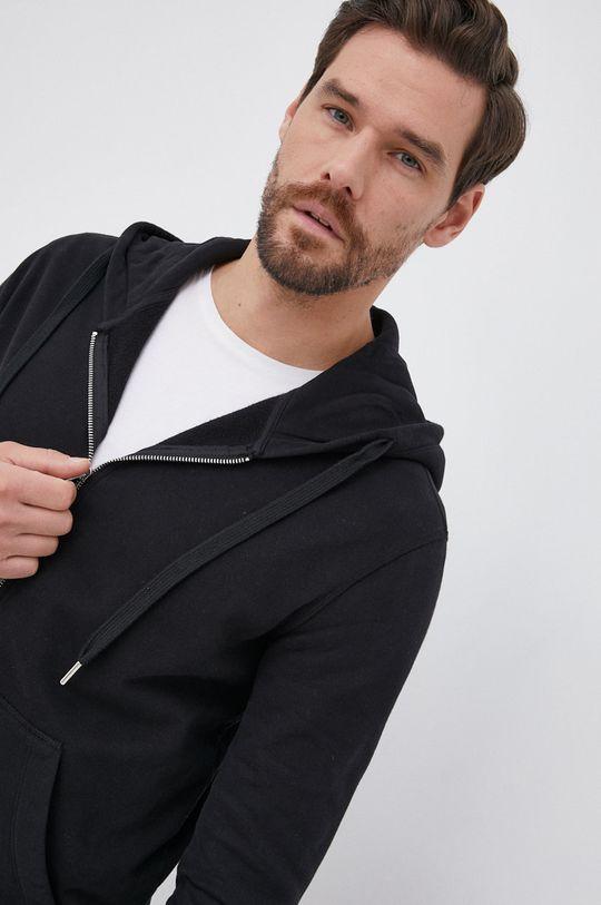 μαύρο Drykorn - Βαμβακερή μπλούζα Payn