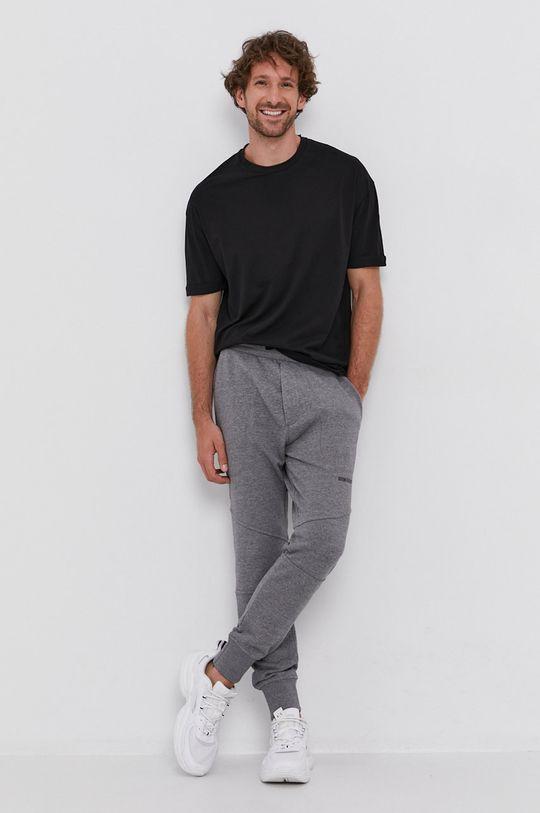 Drykorn - T-shirt bawełniany Thilo czarny