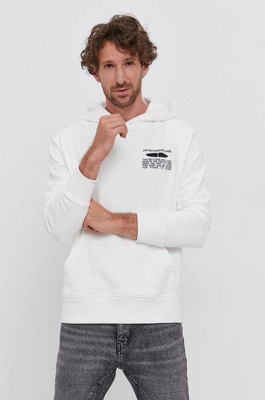 biały Drykorn - Bluza Toni Męski