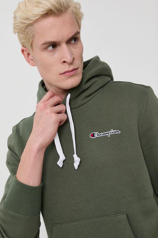 brudny zielony Champion - Bluza Męski