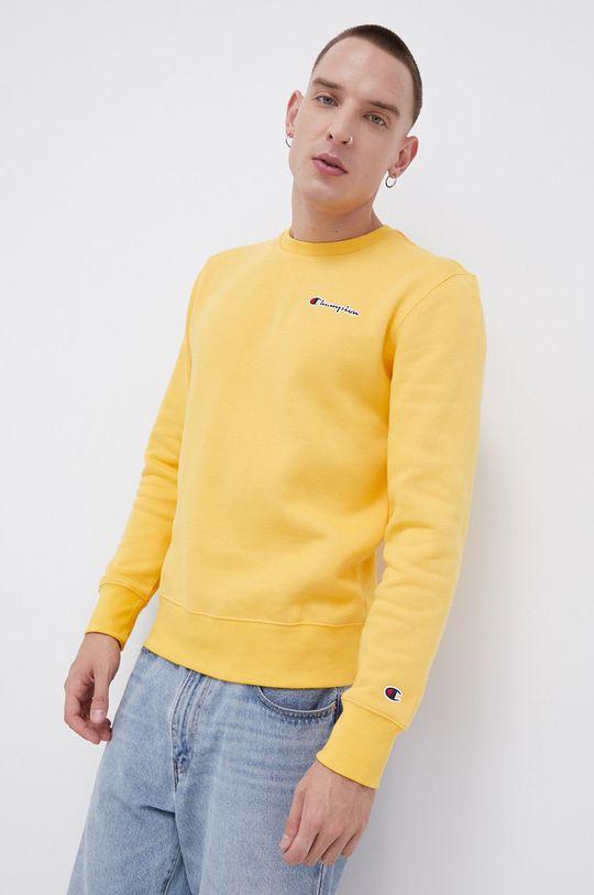 żółty Champion - Bluza
