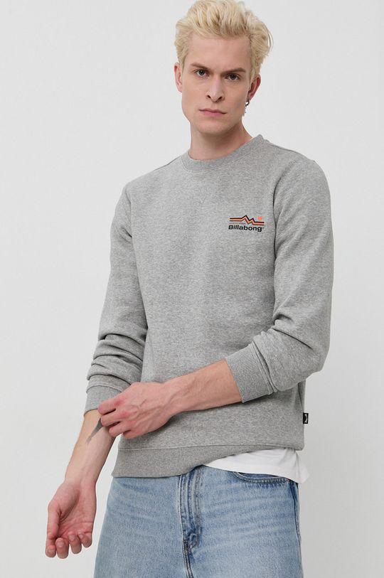 jasny szary Billabong - Bluza Męski