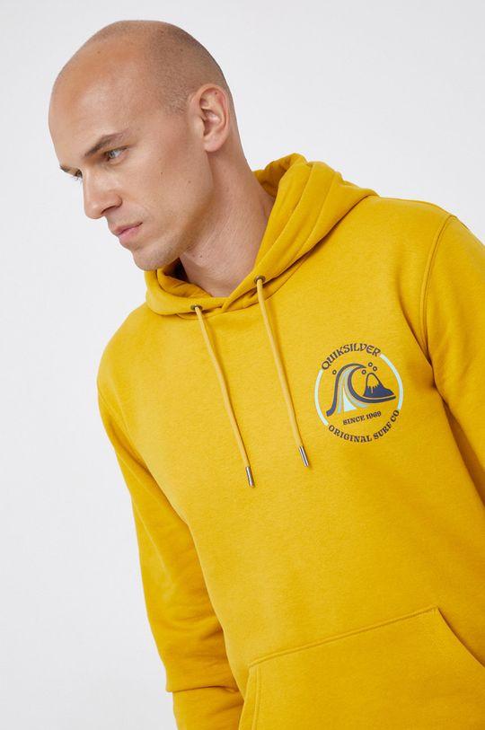 żółty Quiksilver - Bluza
