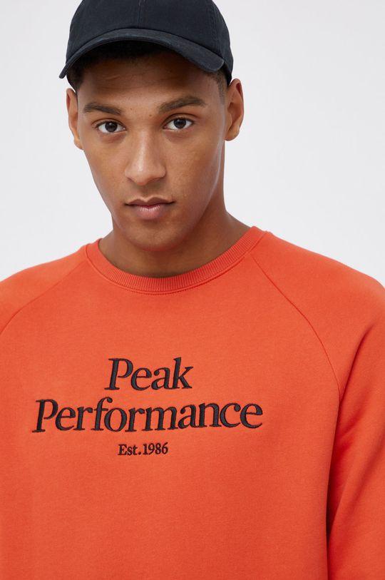 miedziany Peak Performance - Bluza