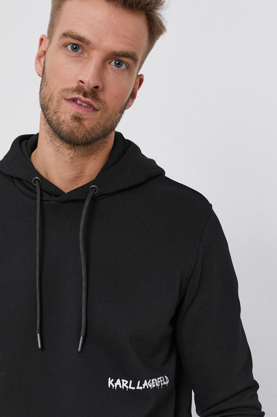 czarny Karl Lagerfeld - Bluza