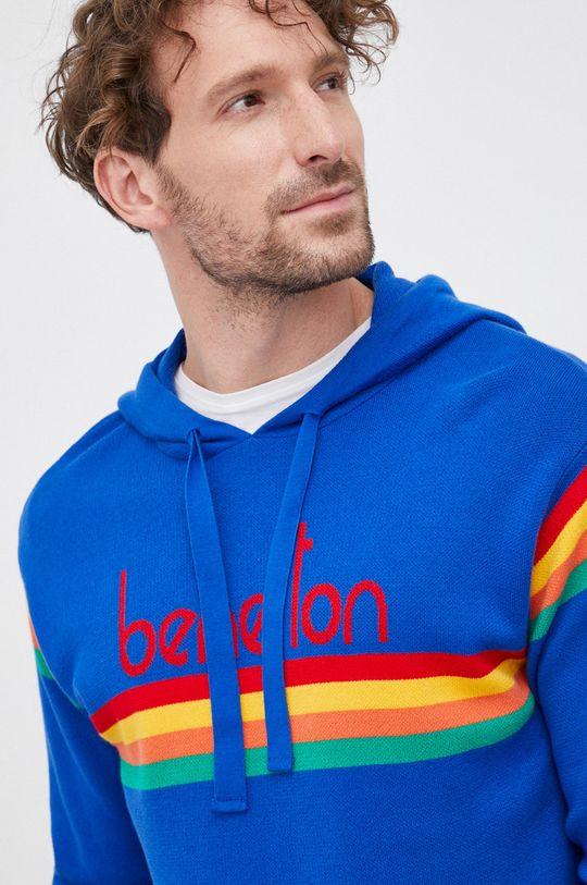 niebieski United Colors of Benetton - Sweter