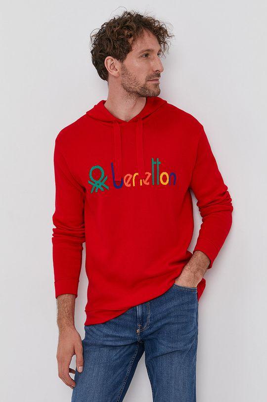 United Colors of Benetton - Sweter czerwony