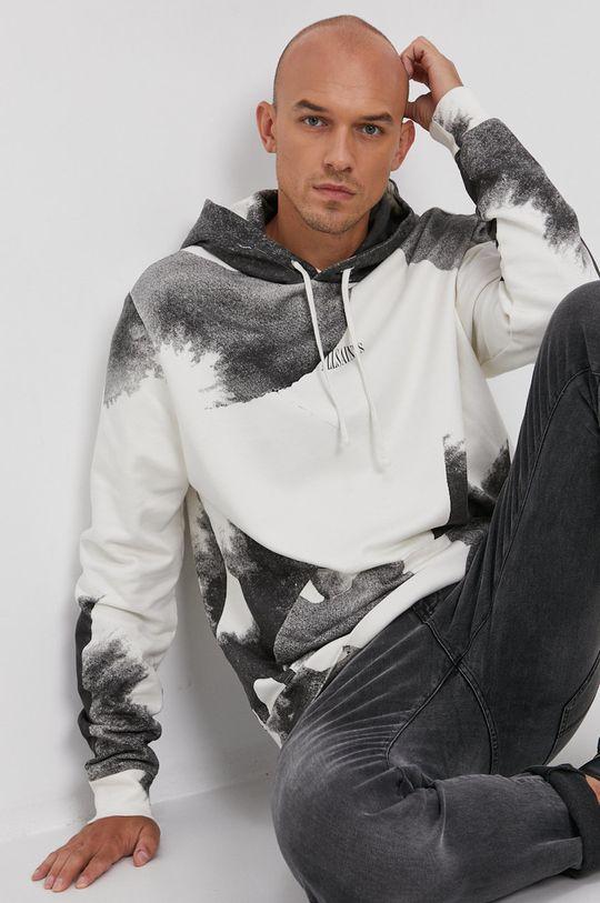 jasny szary AllSaints - Bluza bawełniana Męski