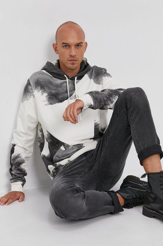 jasny szary AllSaints - Bluza bawełniana