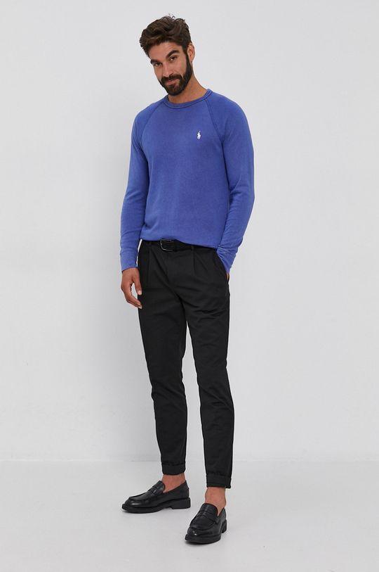 Polo Ralph Lauren - Bluza bawełniana granatowy