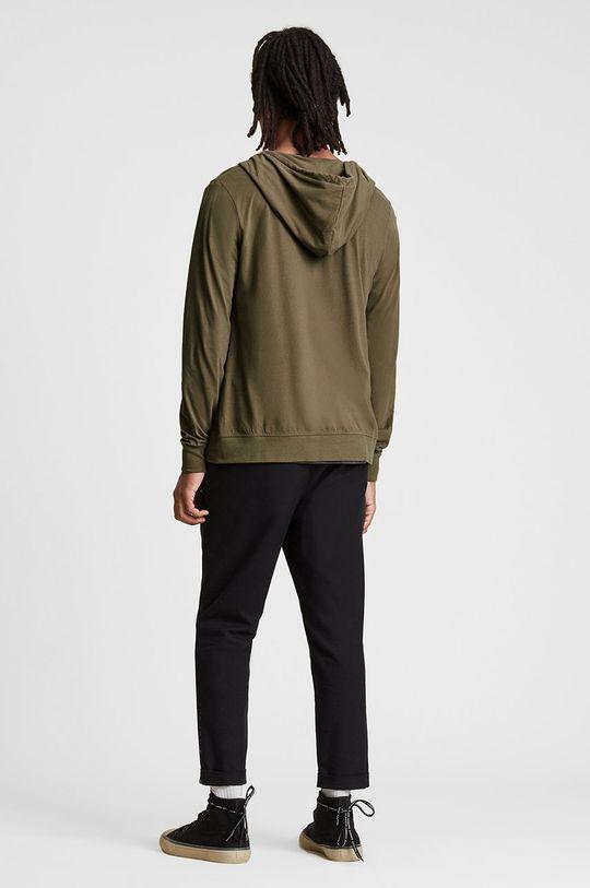 AllSaints - Bluza bawełniana Materiał zasadniczy: 100 % Bawełna, Wykończenie: 100 % Poliester, Ściągacz: 7 % Elastan, 93 % Bawełna