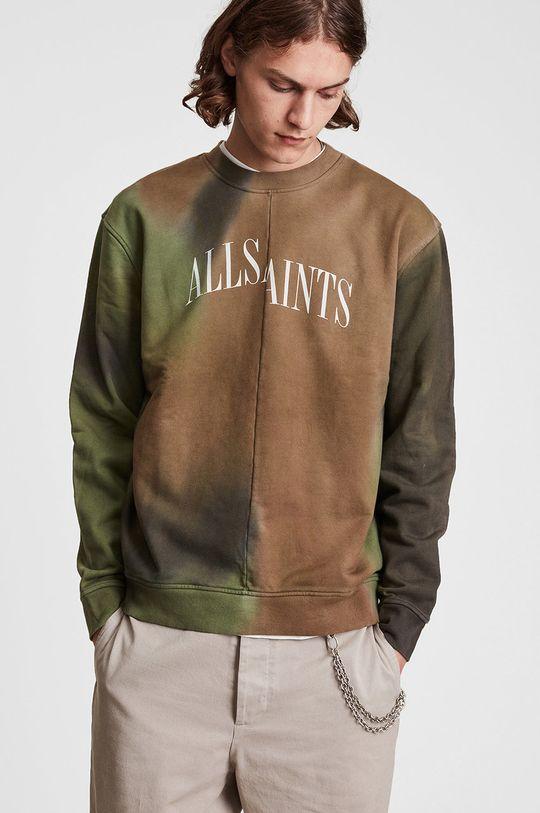 multicolor AllSaints - Bluza bawełniana Męski