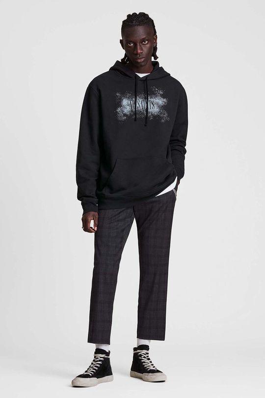 czarny AllSaints - Bluza bawełniana