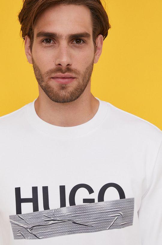 Hugo - Bavlnená mikina z narodeninovej kolekcie