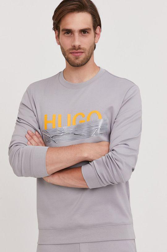 Hugo - Bluza bawełniana z kolekcji urodzinowej  100 % Bawełna