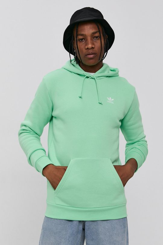 zelená adidas Originals - Mikina Unisex