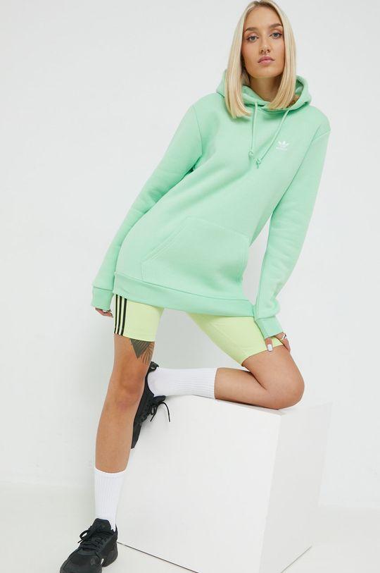 zelená adidas Originals - Mikina