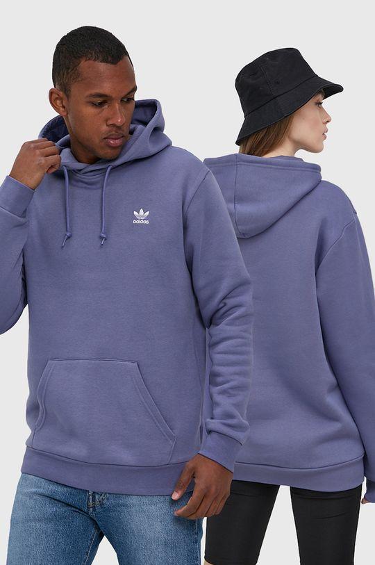 winogronowy adidas Originals - Bluza Unisex