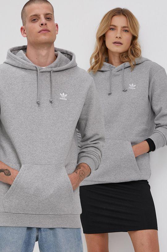 szary adidas Originals - Bluza Unisex
